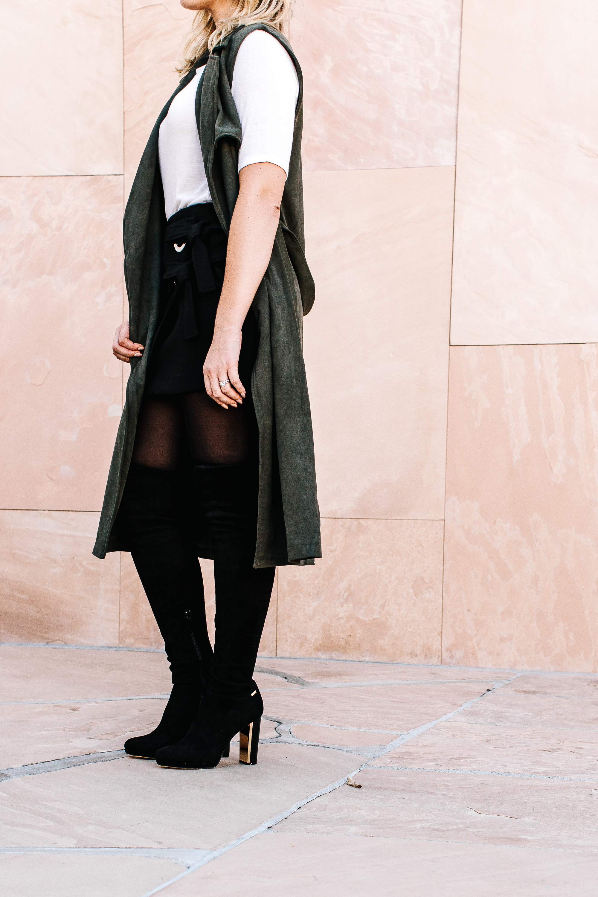 trish-taylor-green-suede-duster-and-thigh-high-boots