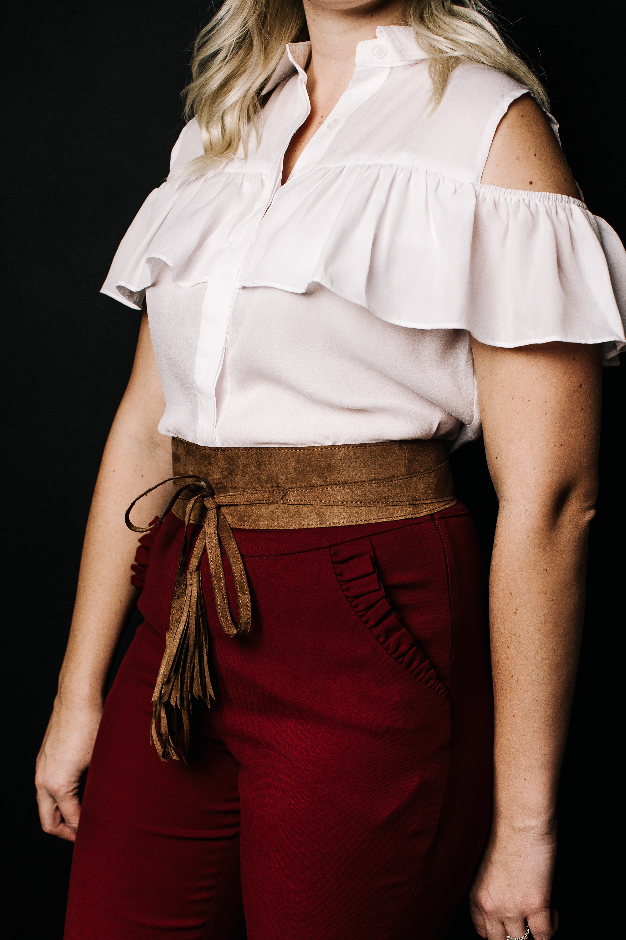 ruffle-blouse-and-obi-belt