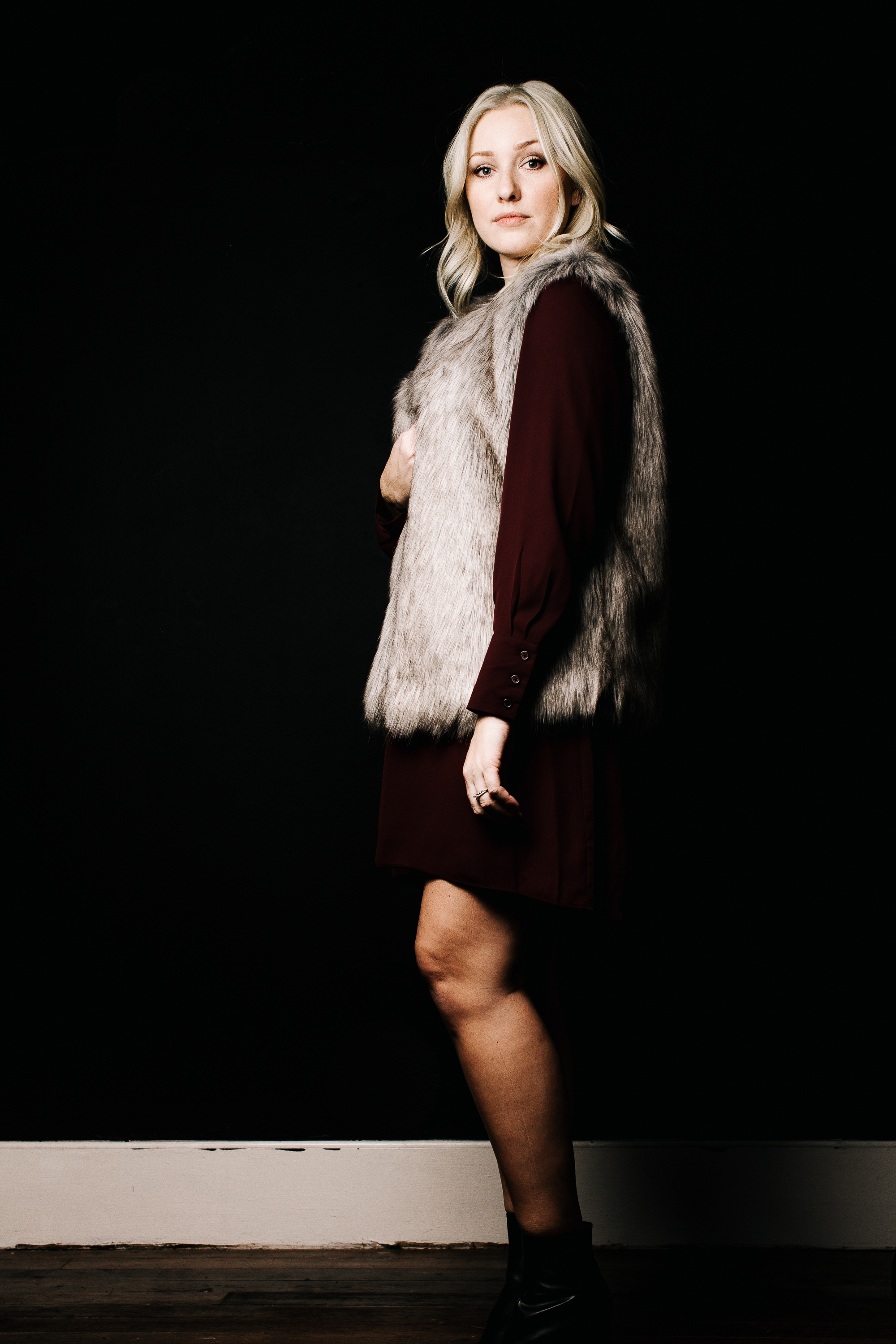 trish-taylor-dress-ad-fur-vest