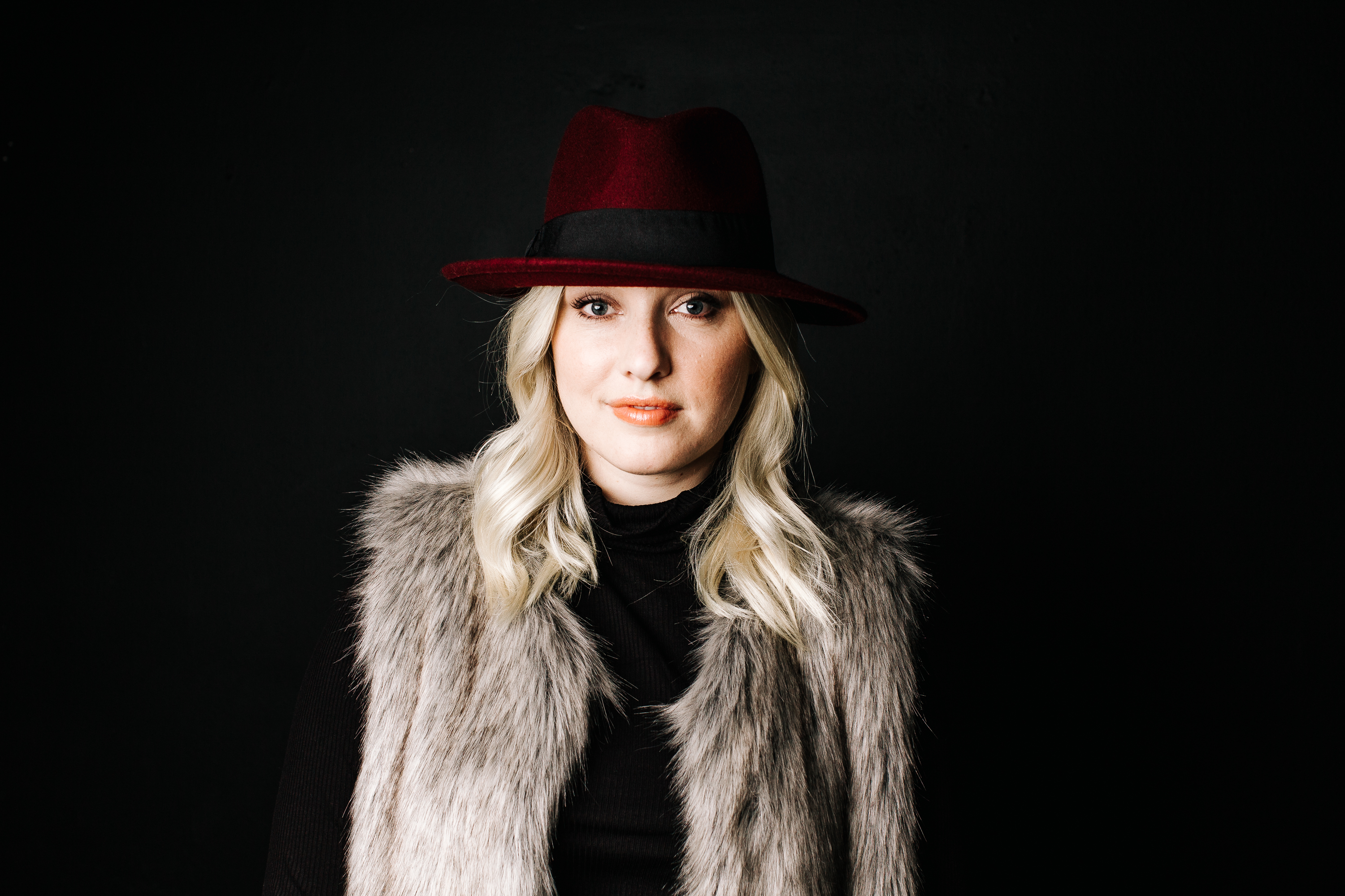 trish-taylor-felt-fedora-and-fur-vest