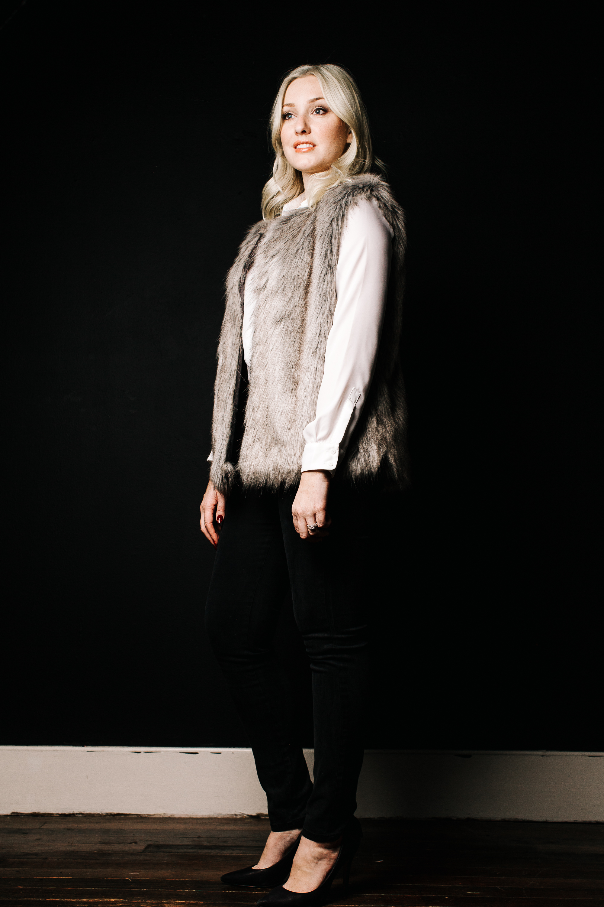 white-blouse-and-fur-vest